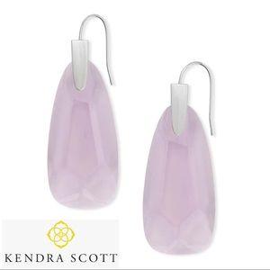 KENDRA SCOTT Light Lavender Maize Drop Earrings